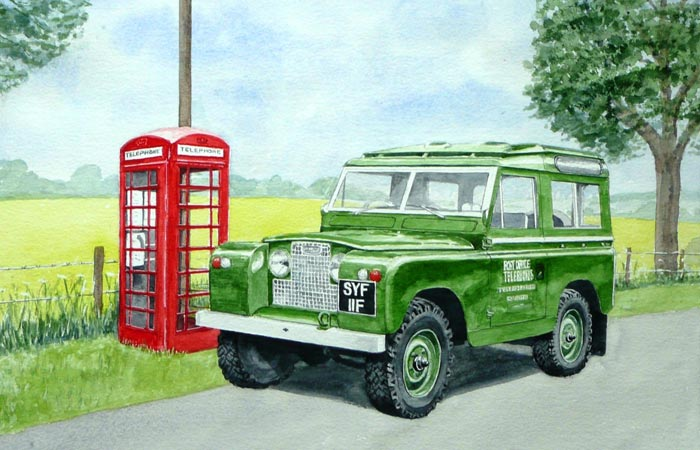 Classic Motor Art Gallery